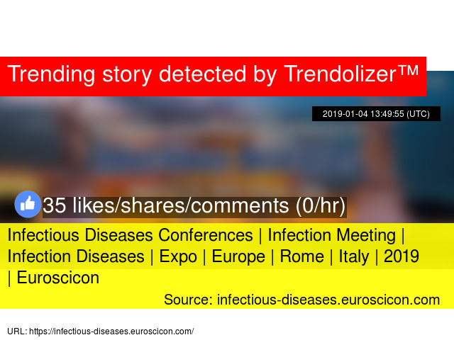 Infectious Diseases Conferences | Infection Meeting